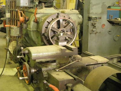 "THE 33"" BACK BREAKER LATHE"